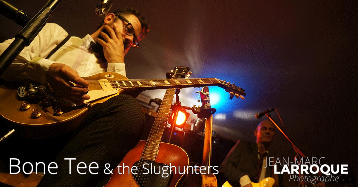 Concert Bone Tee & the Slughunters - La Maison de la Terre