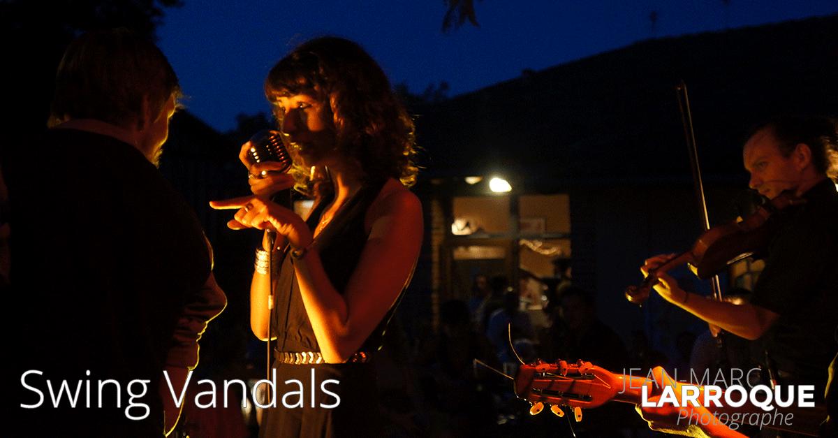 Concert Swing Vandals - La Maison de la Terre