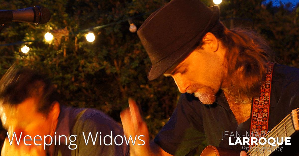 Concert Weeping Widows - La Maison de la Terre