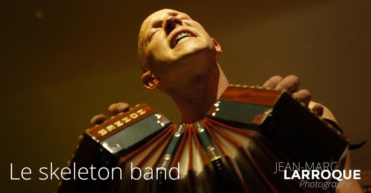 Concert Le Skeleton Band - La Maison de la Terre