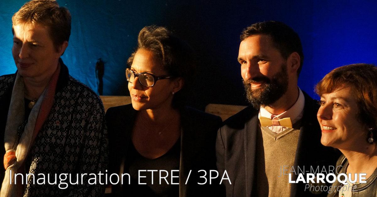 Inauguration École de la Transition Écologique Occitanie Lahage - Association 3PA