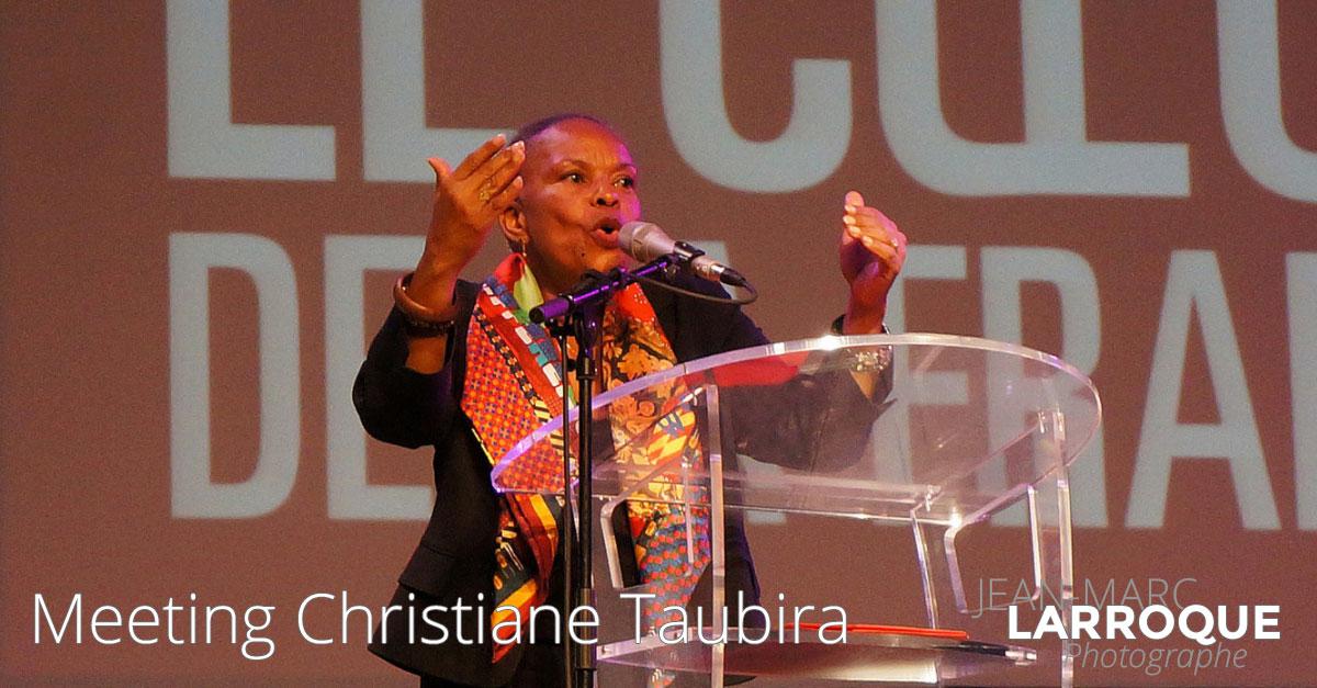 Christiane Taubira à Saint Gaude
